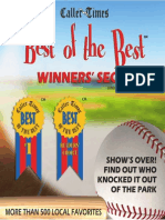 Best of the Best 2013 - Winner's Section