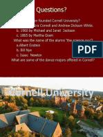 cornell university powerpoint