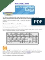 Curso de informática básica 2 ratón y teclado