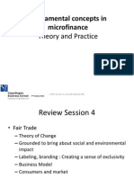 Microfinance theory and practice