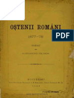 Alessandru Pelimon - Oştenii români - 1877-78 - Poesiĭ