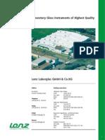 Lenz Katalog Engl