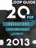 GovLoop Guide 20 Innovations That Mattered in 2013