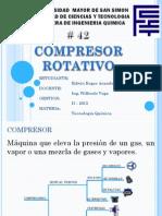 COMPRESOR ROTATIVO