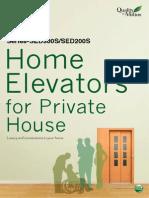 Brochure Home Elevator SED Me 0919