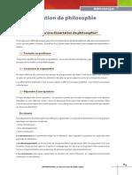 La Dissertation en Philosophie Hachette