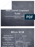exponent laws math claire c