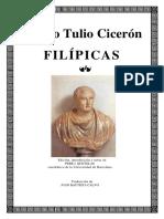 CICERON Filipicas Bilingue