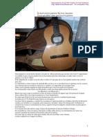Es facil tocár La guitarra?  Revision por el autor.De Jose Antonino
