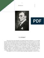 Nae Ionescu despre Tradiţie şi modernizare