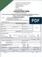 Vigilant Security Application Form April 2011
