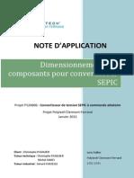 Dimensionnement Des Composants Pour Convertisseur SEPIC 2