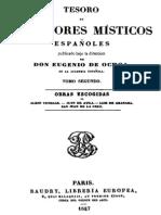 Tesoro de Escritores Misticos Españoles-Tomo II