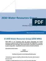 El 2030 Water Resources Group (2030 WRG)