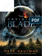 The Obsidian Blade by Pete Hautman - Chapter Sampler