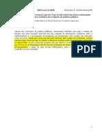 apBECHELAINE, C.H._ CKAGNAZAROFF, I.B. O Por que as avaliações vão para a gaveta
