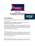 bill richardson 2008 - tell me background documents