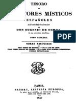 Tesoro de Escritores Misticos Españoles-Tomo III