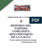 CCPCB de La URSS - Historia Del Partido Comunista Bolchevique de La URSS