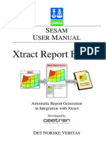 Xtract Report Builder User Manual