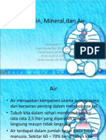 Vitamin, Mineral,Dan Air