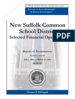 New Suffolk audit, Dec. 2013