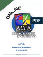 Alfacon Aline Agente Administrativo Da Policia Federal Pf Administracao Financeira Orcamentaria Marcelo Adriano 4o Enc 20131124124843