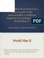 world war ii essay 2013