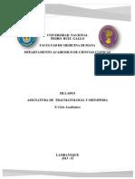 1. Silabus Oficial Traumatologia