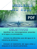 Grupo 1. Microbiología del agua.