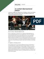 Bundesliga Fussball Spieltag 16