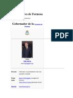 Gobernadores de Formosa