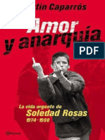 Amor y anarquía - Martín Caparrós