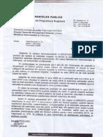 Scrisoare Ministerul Finantelor catre MAI privind nelegalitatea prelungirii salariului de merit