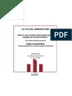 Seminario FIMIT SGR - DARIO SCANNAPIECO - Dopo la crisi