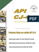 Aceite API Cj-4