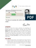 ARTH208 4.4.3 Paul Klee