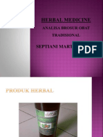 Herbal Medicine Septiani Martha