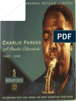 Charlie Parker-A Studio Chronicle1940-1948