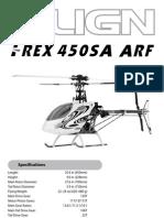 T-Rex 450SA Arf Manual