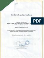raffles college certificate