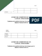 PDF Liasse Des Cinq Competences Et Page de Titre