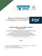 EJREP __ Procesos de Resolución de Problemas y videojuegos_ el caso de Sim City Creator por MONJELAT, N., MÉNDEZ ZABALLOS, L. y LACASA, P