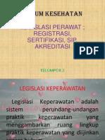 Pp Legislasi Perawat