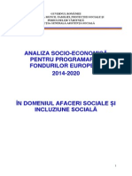 Mmfpspv Analiza Afaceri Sociale Si Incluziune Sociala