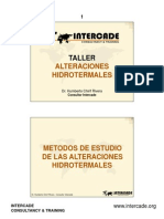 Alteraciones Hidrotermales Taller