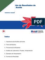 6. Interpretación de Análisis de Aceite