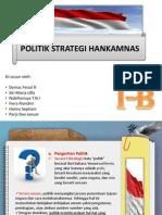 Politik Strategi Hankamnas