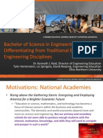 asee 2013 engineering education vs typical disciplines