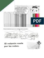 Material Letra VVVVV Vvvv